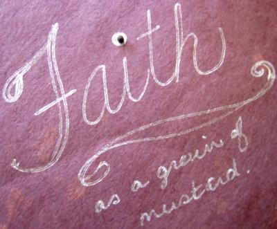 faith, mustard seed