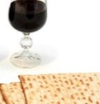 Bread and wine, matzo