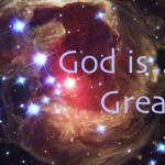God is great stars