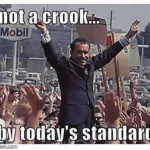 political leaders Nixon not a crook