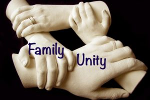 family unity -stronger-together-