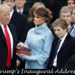a scripturalist view of Trump's Inaugural Address