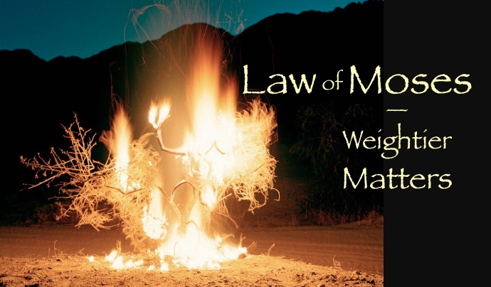 weightier matters of the law