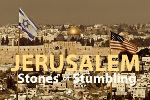 jerusalem stone of stumbling