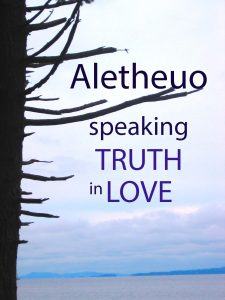 aletheuo speaking truth
