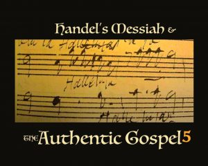 Handel's Messiah authentic gospel 5 gold