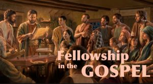 koinonia - fellowship - partners with God