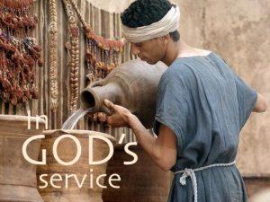 in God's service