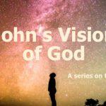 John's vision of God nature of God banner