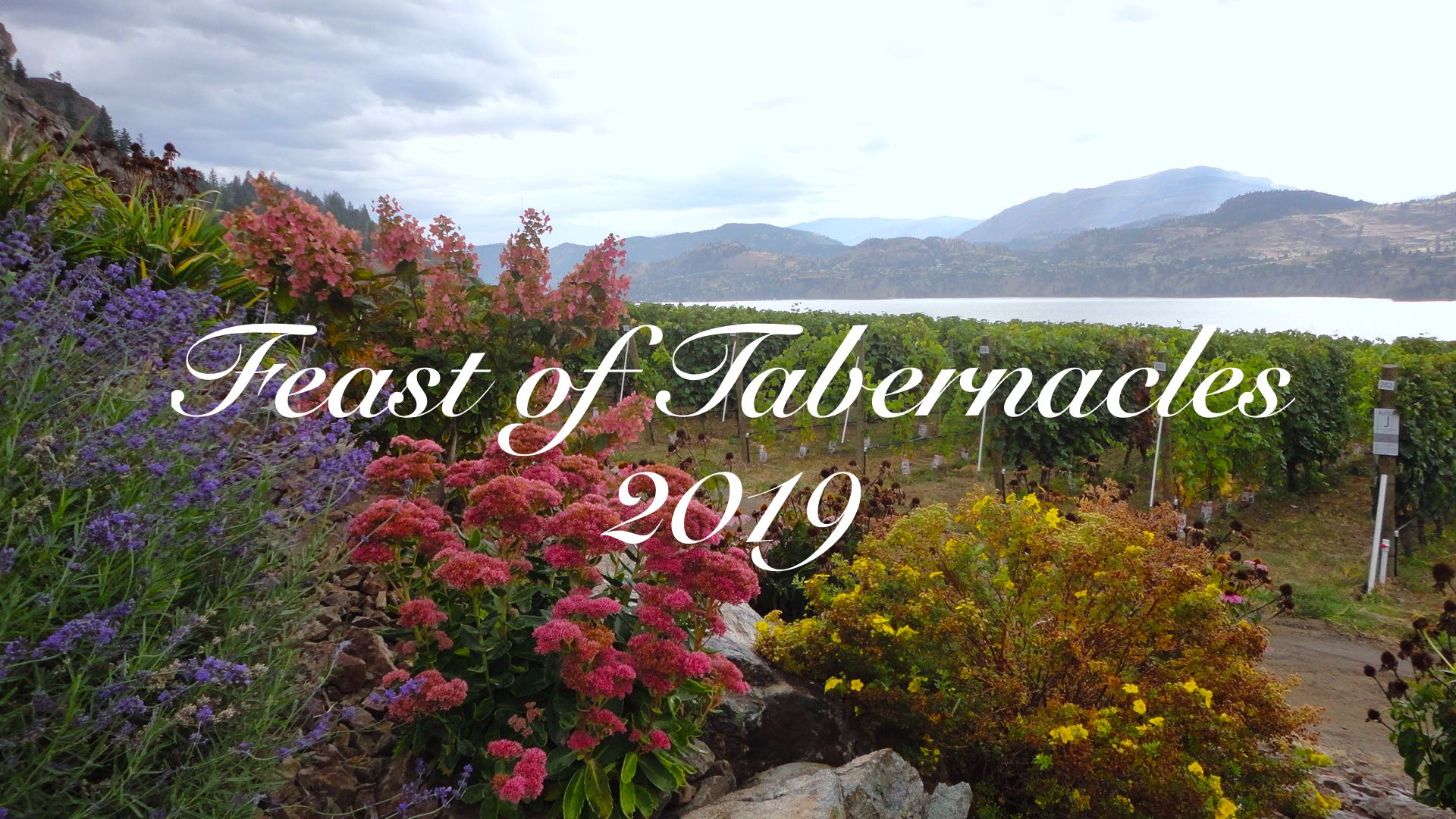 Feast of Tabernacles 2019