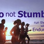do not stumble run race with endurance