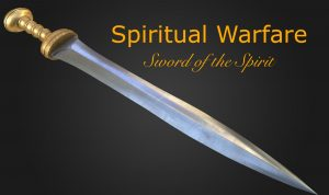 Sword of the spirit spiritual warfare