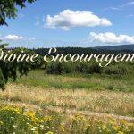 divine encouragement