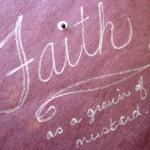 Christian faith, mustard seed