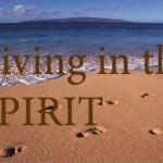 footprints living in spirit