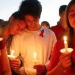 mass murder candlelight vigil