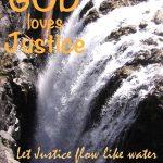 God loves justice