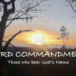 Third Commandment